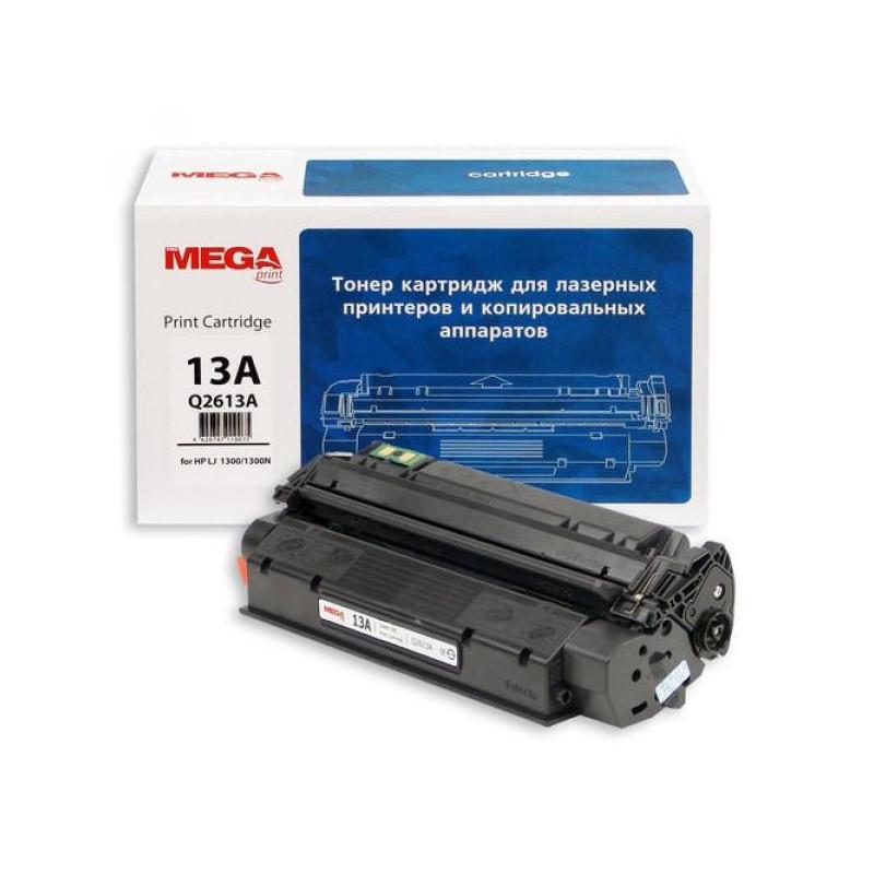 Тонер-картридж лазерный Pro Mega 13X Q2613X черный совместимый