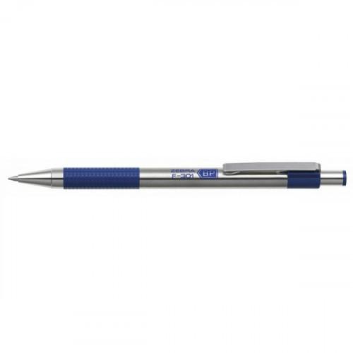 Ручка шариковая автоматическая Zebra F-301 0.7 мм синяя