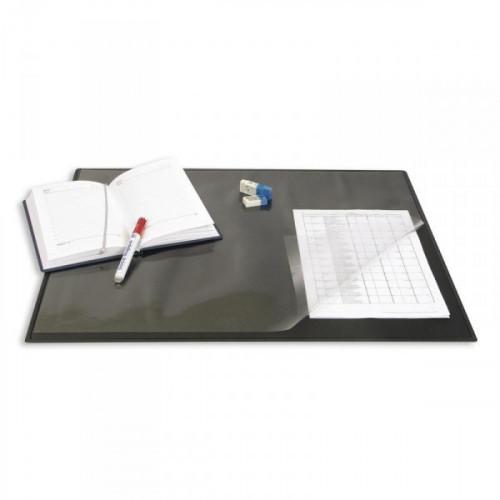 Коврик на стол Bantex 49х65 см черный с прозрачным листом