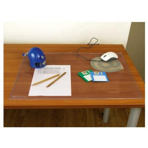 Коврик на стол Bantex 49х65 см прозрачный антибликовый