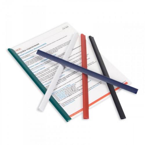 Скрепкошина для брошюровки Durable А4 черная до 60 листов