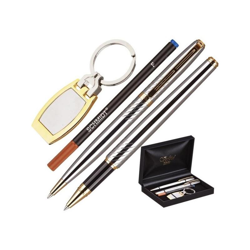 Набор VERDIE Ve-53 шариковая ручка и роллер и брелок