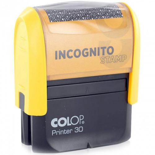 Штамп стандартный ИНКОГНИТО Printer 30/L 47х18 мм Colop Австрия