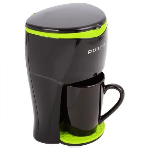 Кофеварка Polaris PCM0109 черного цвета