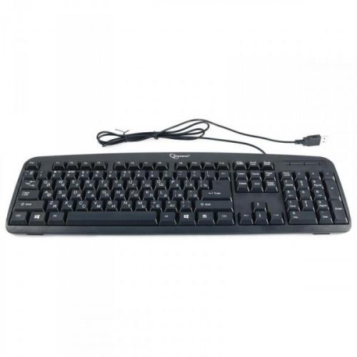 Клавиатура Gembird KB-8350U-BL USB черная