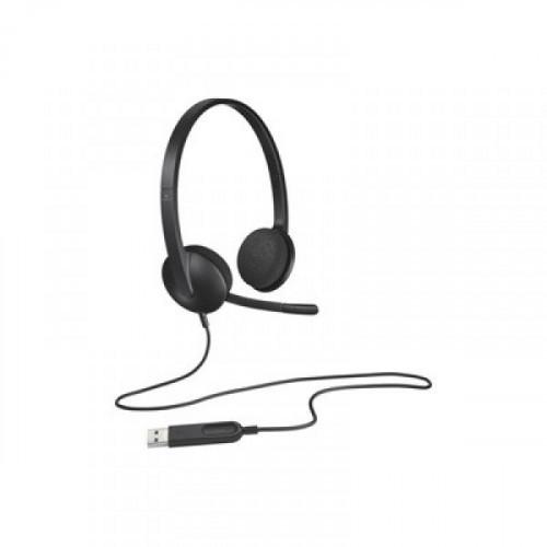Гарнитура Logitech Headset H340