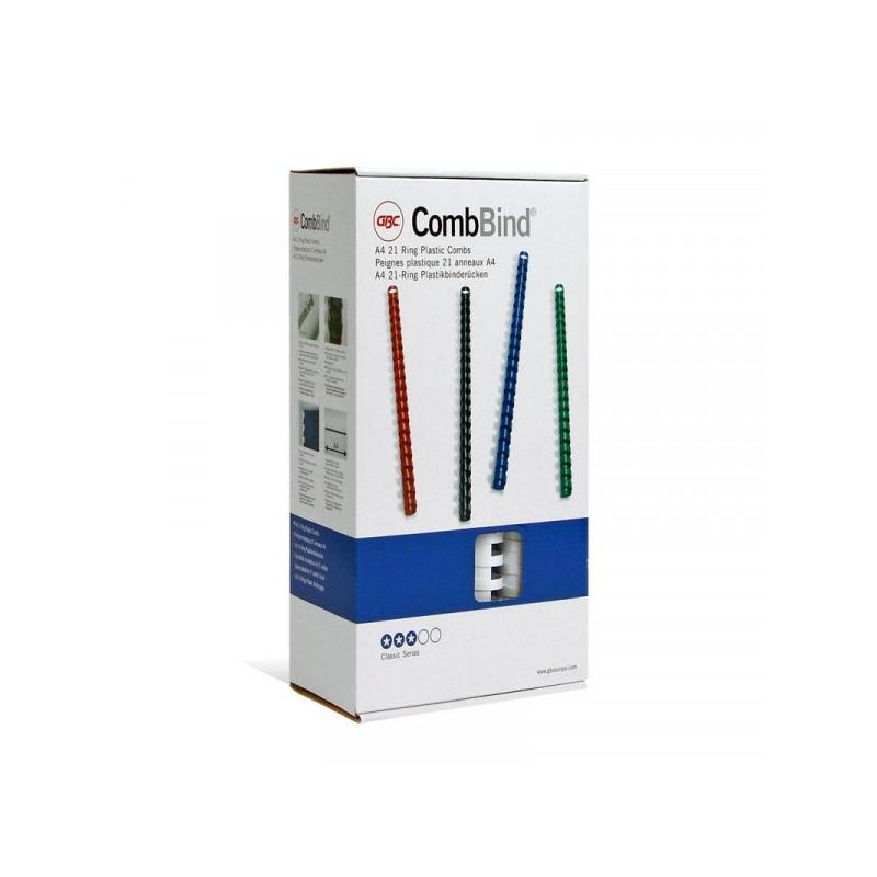 Пружины для переплета пластиковые белые 14 мм 100 штук/упаковка