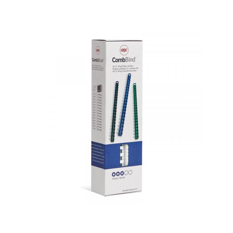 Пружины для переплета пластиковые белые 6 мм 100 штук/упаковка