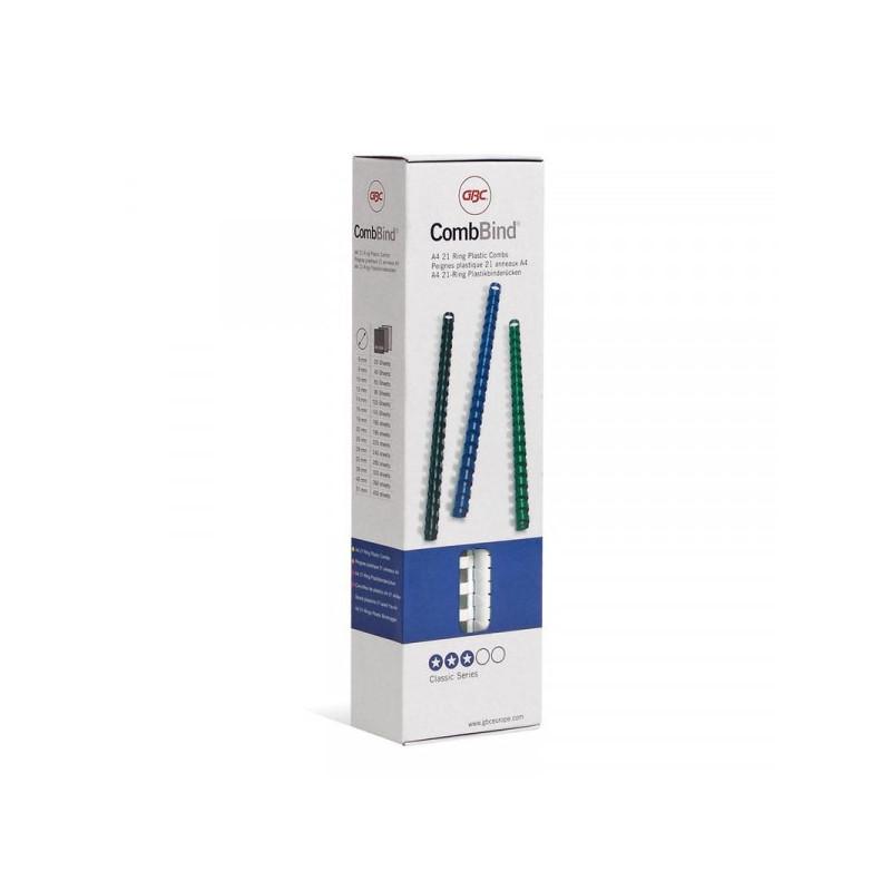 Пружины для переплета пластиковые белые 8 мм 100 штук/упаковка