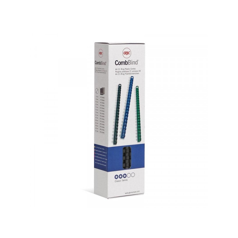 Пружины для переплета пластиковые черные 6 мм 100  штук/упаковка