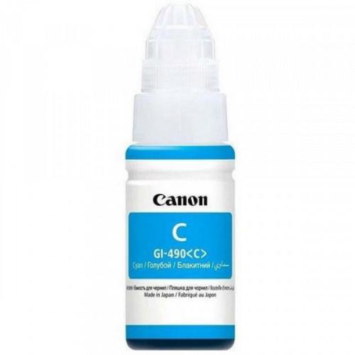 Чернила Canon GI-490 C 0664C001 голубой оригинальный