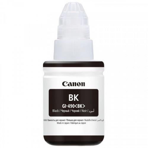 Чернила Canon GI-490 BK 0663C001 черный оригинальный
