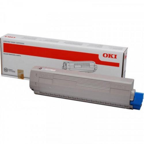Тонер-картридж Oki 44844517/44844505 желтый повышенной емкости для C831/841