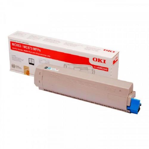 Тонер-картридж Oki 45862852 черный для MC853/873