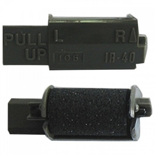 Черный чернильный ролик Casio iR40