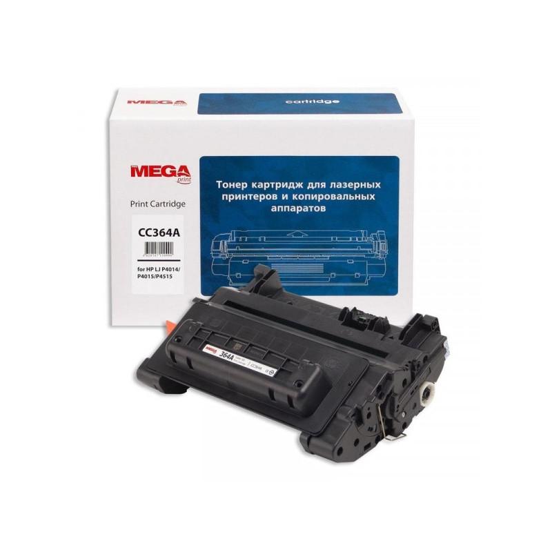 Тонер-картридж лазерный Pro Mega 64A CC364A черный совместимый
