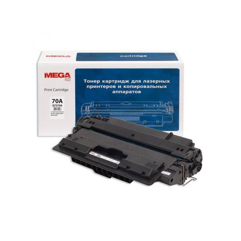 Тонер-картридж лазерный Pro Mega 70A Q7570A черный совместимый