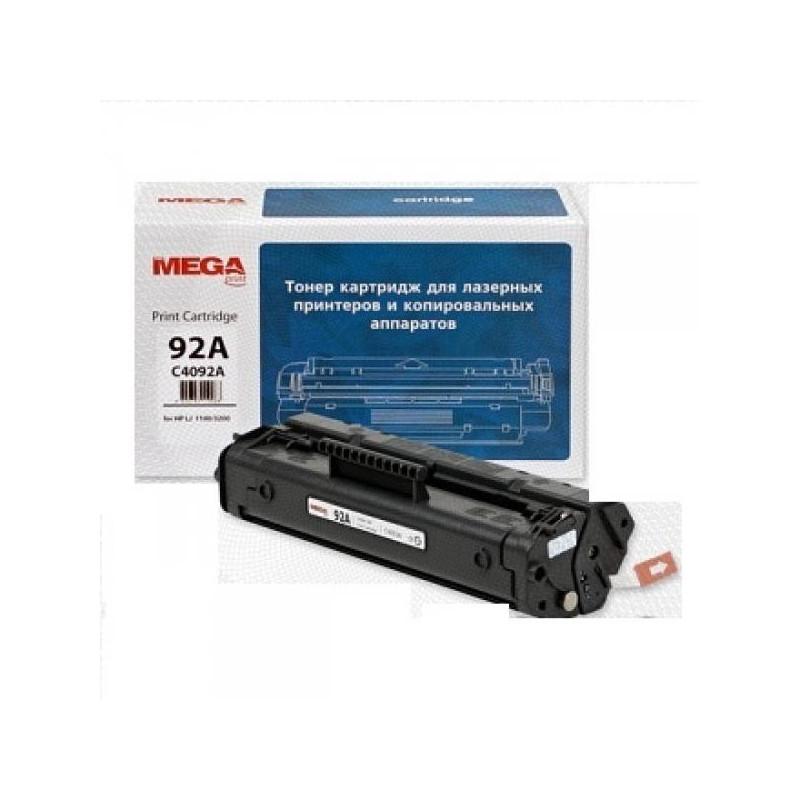 Тонер-картридж лазерный Pro Mega 92A C4092A черный совместимый