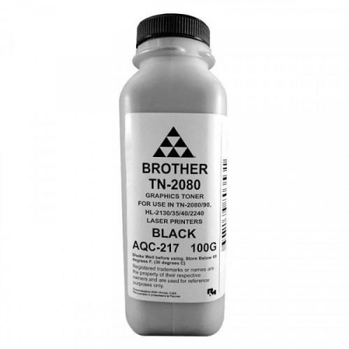 Тонер AQC-217 чёрн. для Brother TN2080/90/2235/75 HL2240/2140 (100 г.)