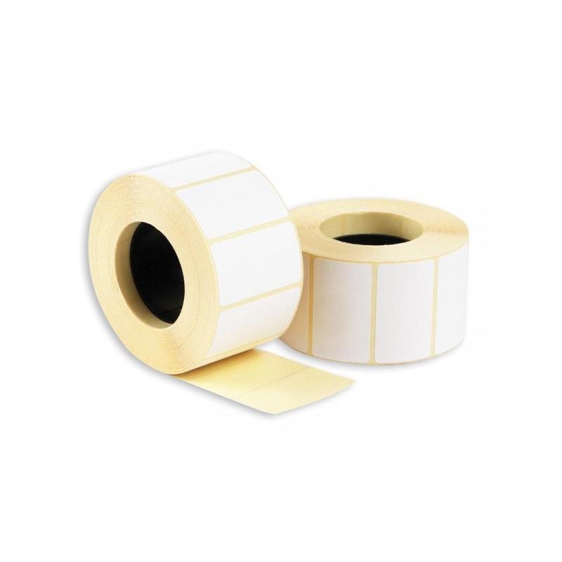 Термоэтикетки 43х25 эко без печати 1000 штук/рулон 36 рулонов/упаковка