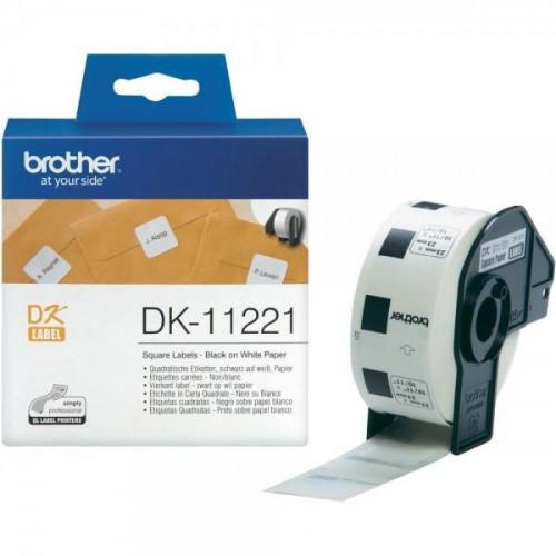 Картридж к принтеру Brother DK-22210 клеящаяся лента белая 29 мм 30.5 м