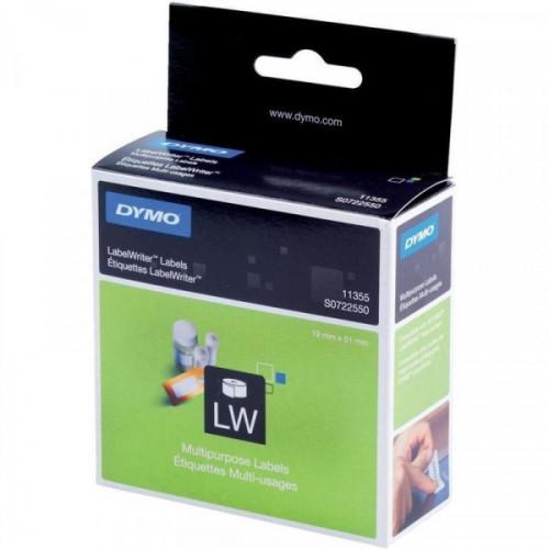 Картридж к принтеру DYMO LW этикетки 51х19 500 штук/рулон многофункциональные бумажный
