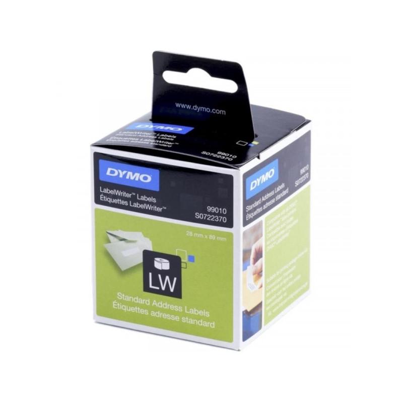 Картридж к принтеру DYMO LW этикетки 89х28 260 шт/2 рулона адресные бумажные