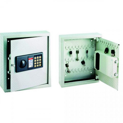 Металлический шкаф для 48 ключей ONIX КЕ электронный замок 300х100х365 мм