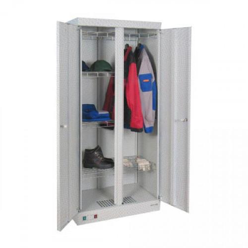 Металлический шкаф Сушильный ШСО 2000 800х510х1810 мм 2 секции