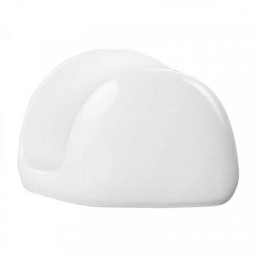 Салфетница Wilmax белый фарфор 11х8 см
