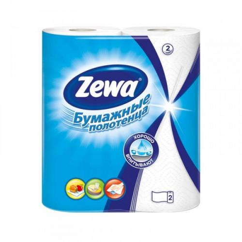 Полотенца бумажные Zewa с тиснением двухслойные (2 рулона по 15 метров)