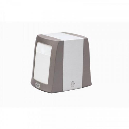 Диспенсер для салфеток Tork N2 металлический серый