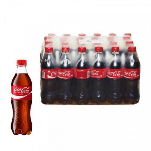Напиток Coca-Cola газированный 0.5 литра 24 штуки в упаковке