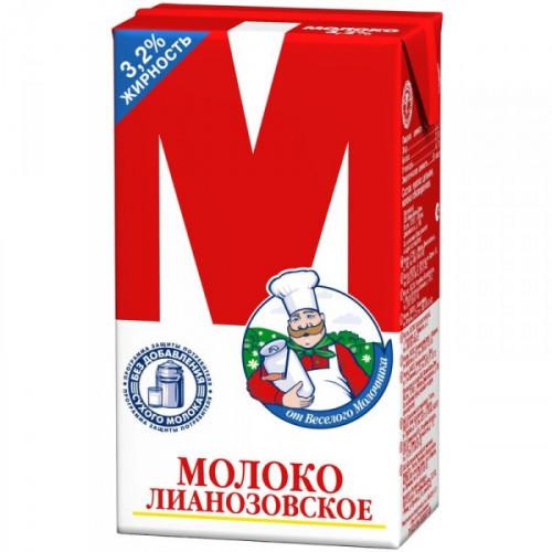 Молоко М ультрапастеризованное 3,2% 950 мл