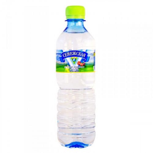 Вода минеральная Сенежская негазированная 0.5 литра 12 штук в упаковке