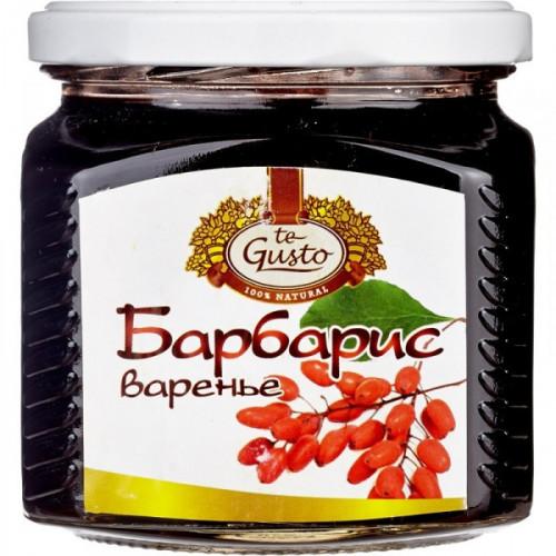 Варенье te Gusto барбарис 470 грамм