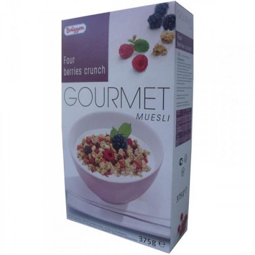 Мюсли Gourmet Bruggen с лесными ягодами 375 грамм
