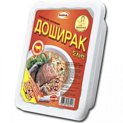 Лапша Доширак со вкусом говядины 90 грамм