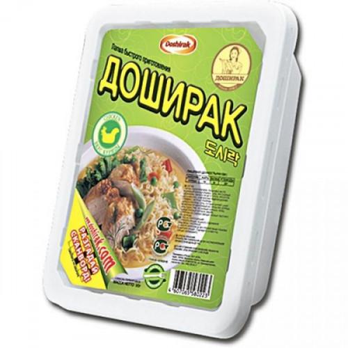 Лапша Доширак со вкусом курицы 90 грамм