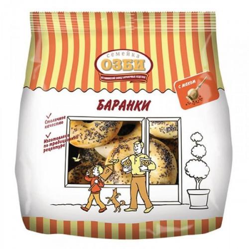Баранки Семейка Озби с маком 300 грамм