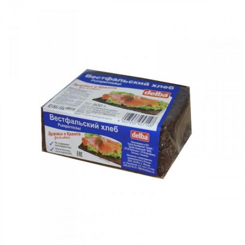 Хлеб Delba Вестфальский ржаной SHORT 500 грамм