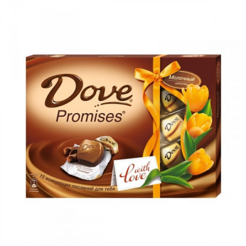 Шоколад Dove Promises молочный 120 грамм