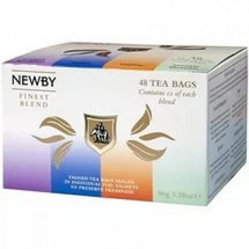 Чай Newby Finest Blend ассорти 48 пакетиков