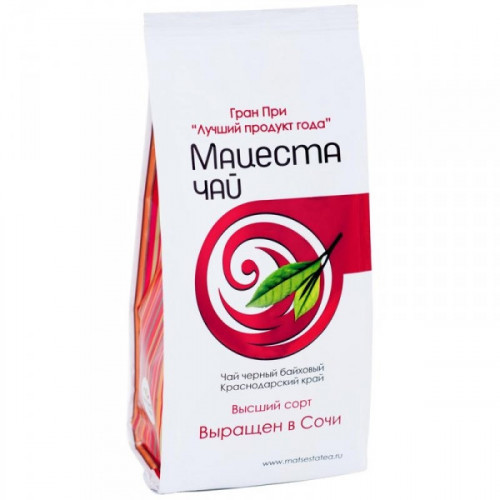 Чай Мацеста черный байховый 100 грамм