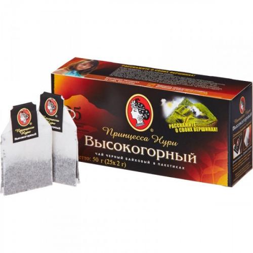 Чай Принцесса Нури Высокогорный черный 25 пакетиков
