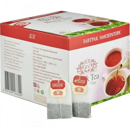 Чай Завтрак Императора черный 200 пакетиков