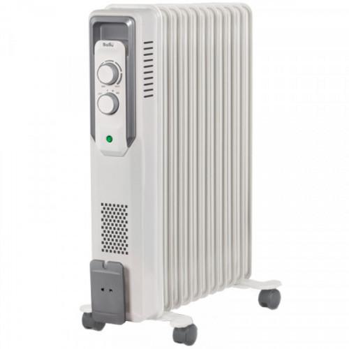Радиатор масляный 2200Вт Ballu, 11 секций, до 27 м2, механический тип, белый