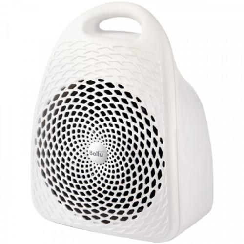 Тепловентилятор 1500Вт Ballu, спиральный  нагревательный  элемент, белый