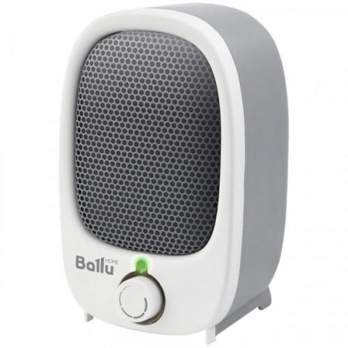 Тепловентилятор-мини 900Вт Ballu, спиральный нагревательный элемент, серый/белый
