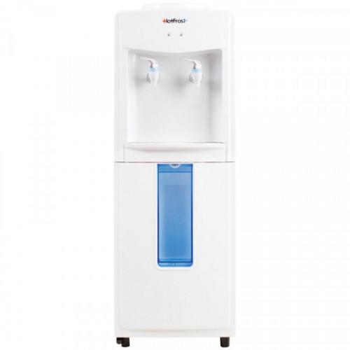 Кулер (раздатчик) для воды напольный HotFrost V118R, комнатная, отсек для стаканчиков, белый